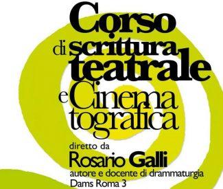 Corso di scrittura teatrale e cinematografica