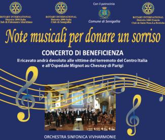 La Vivharmonie in concerto a Senigallia per beneficenza