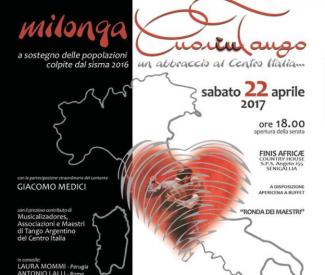 Il tango abbraccia il centro Italia